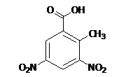 3,5-Dinitro-2-Methylbenzoic Acid